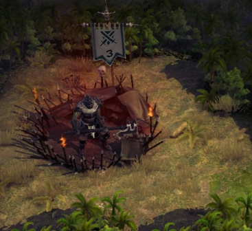Brigand Hideout in game