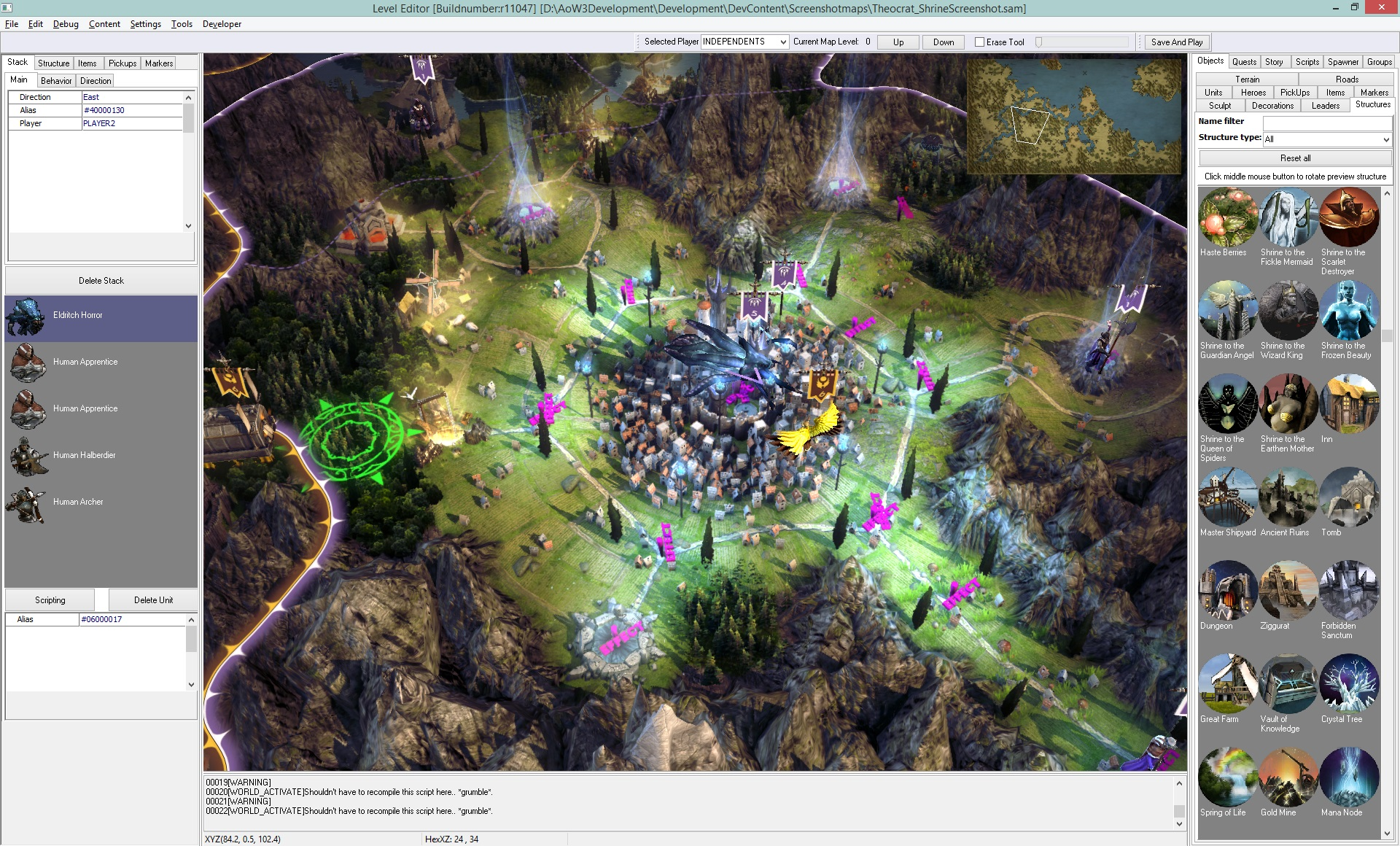All about the age of wonders iii level editor age of wonders iii the level editor tutorial video aow3leveleditorstructures gumiabroncs Images