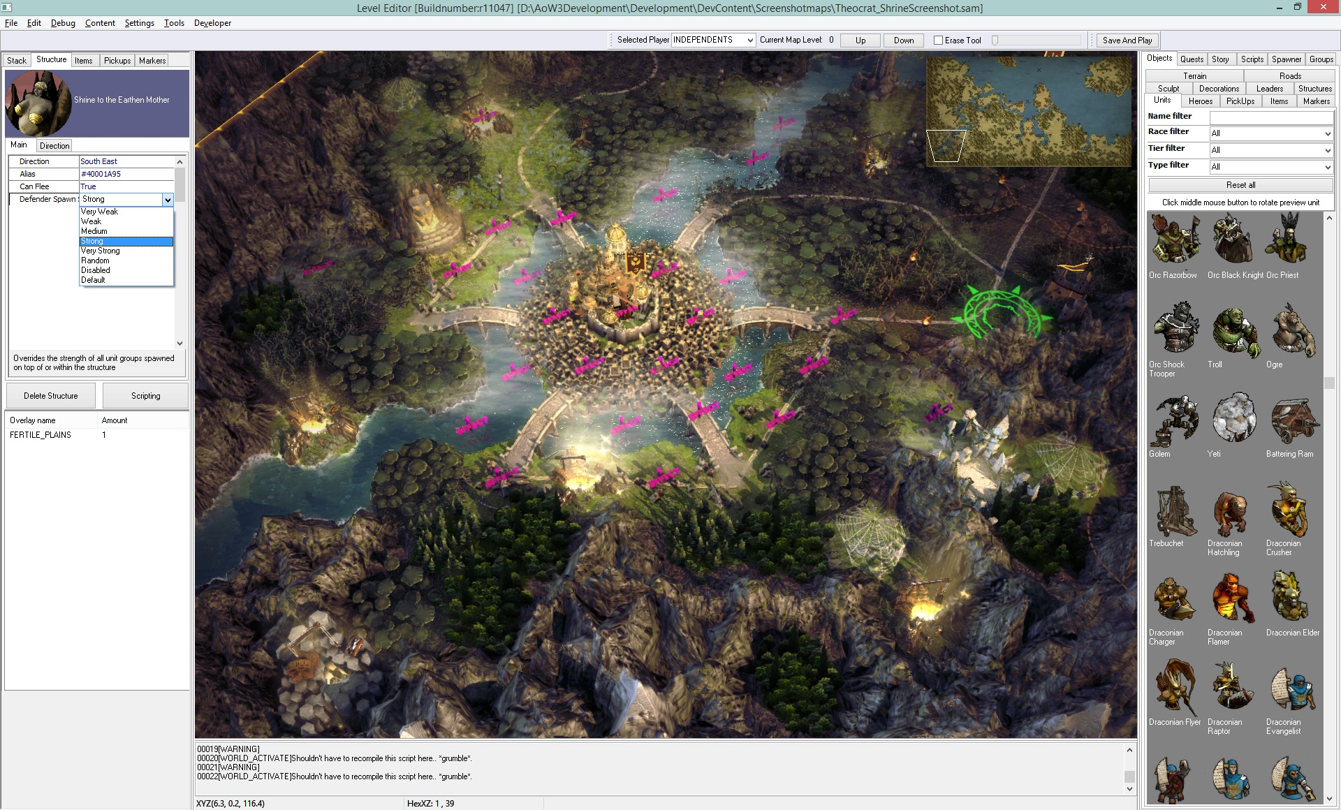 All about The Age of Wonders III Level Editor Age of Wonders III